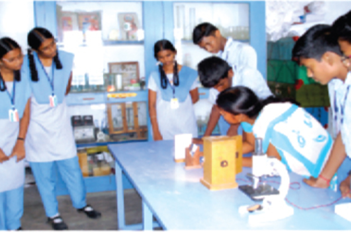 B P M Matriculation School-Lab
