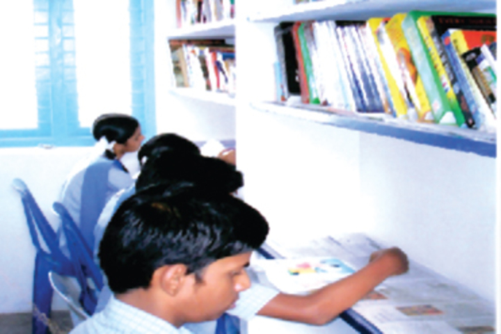 B P M Matriculation School-Library