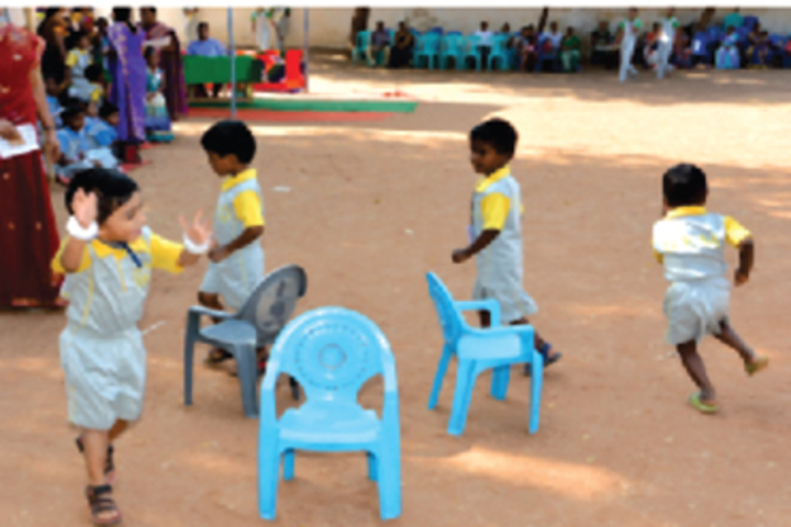 B P M Matriculation School-Play Activity
