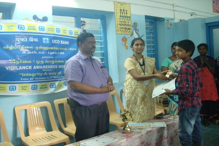 B P M Matriculation School-Prize Distribution