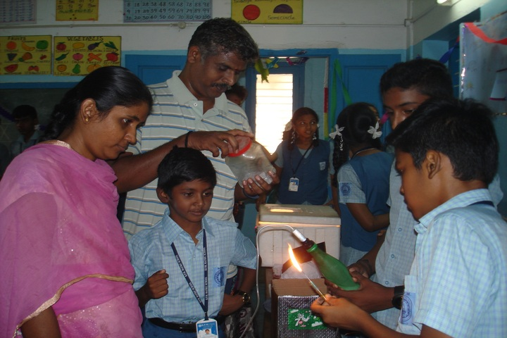 B P M Matriculation School-Science Exhibition