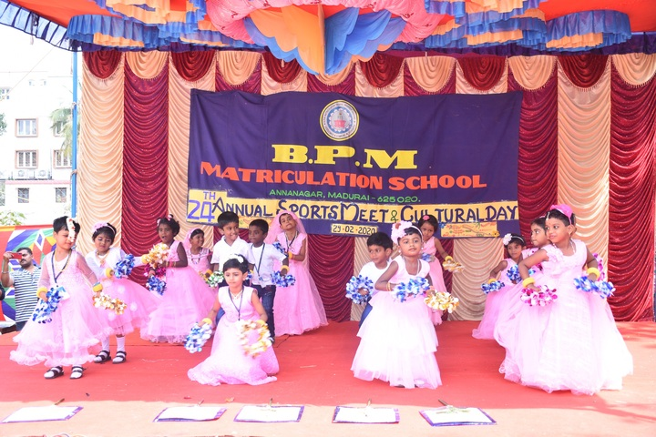 B P M Matriculation School-Sports Meet