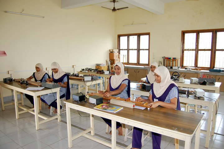 Crescent College of Education for Women-Physics Lab