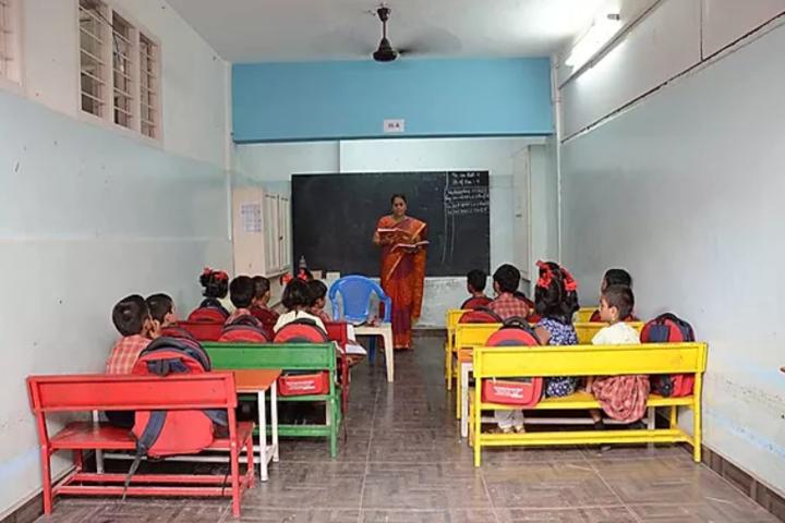 Little Diamond Matriculation School-Classroom