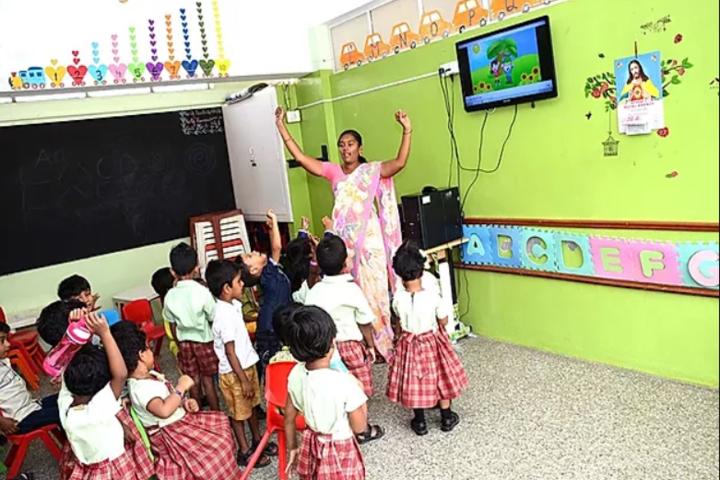 Little Diamond Matriculation School-Kids Classroom