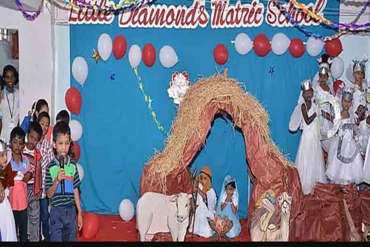 Little Diamond Matriculation School-Christnas Celebration