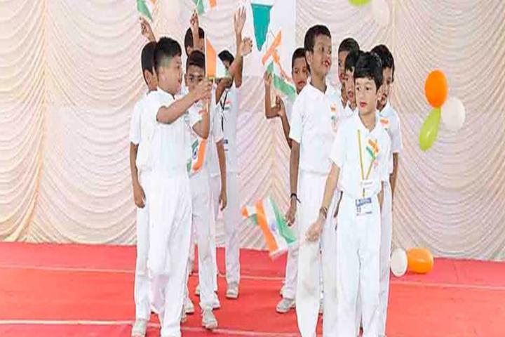 Little Diamond Matriculation School-Independance Day