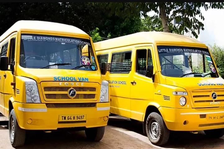 Little Diamond Matriculation School-Transport