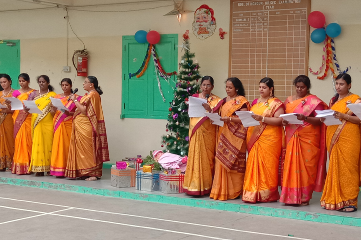 GRG Matriculation Higher Secondary School-Christmas Celebration