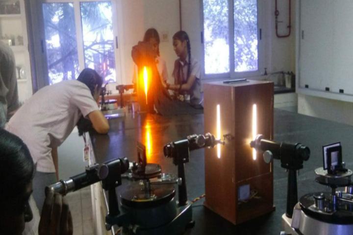 GRG Matriculation Higher Secondary School-Physics Lab