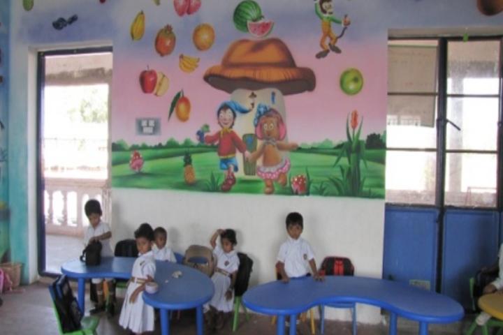 N S Matriculation School-Kids Classroom