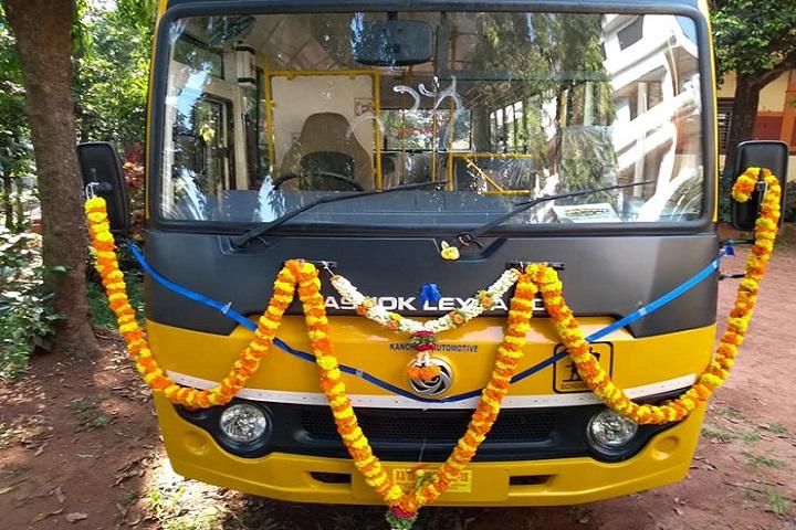 Shree Bharathi PU College-Bus