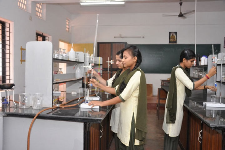 Shree Bharathi PU College-Chemistry Lab
