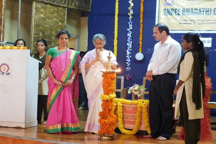 Shree Bharathi PU College-Lighting The Lamp