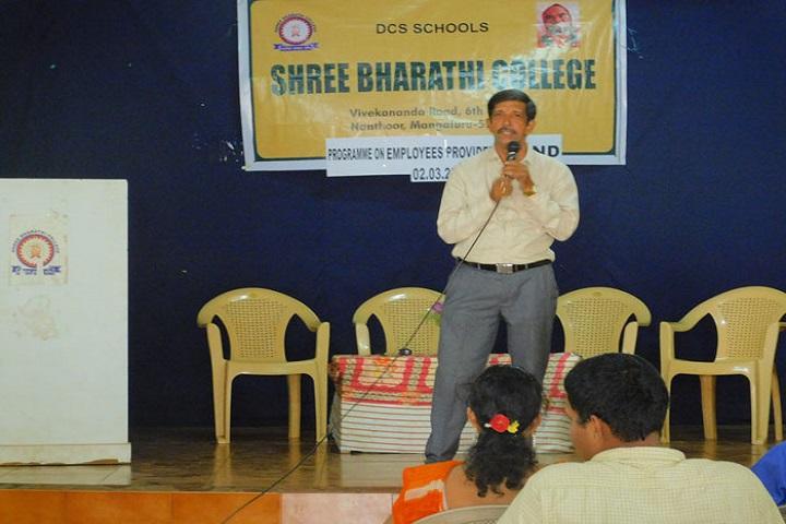 Shree Bharathi PU College-Speech