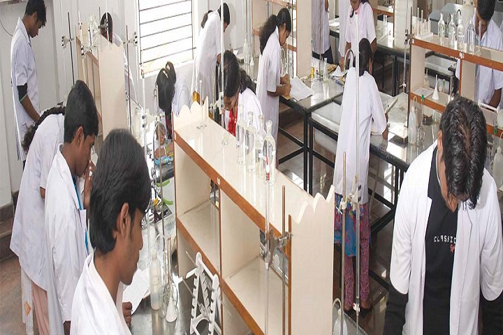 Vidya Vikas Pre University College-Chemistry Lab