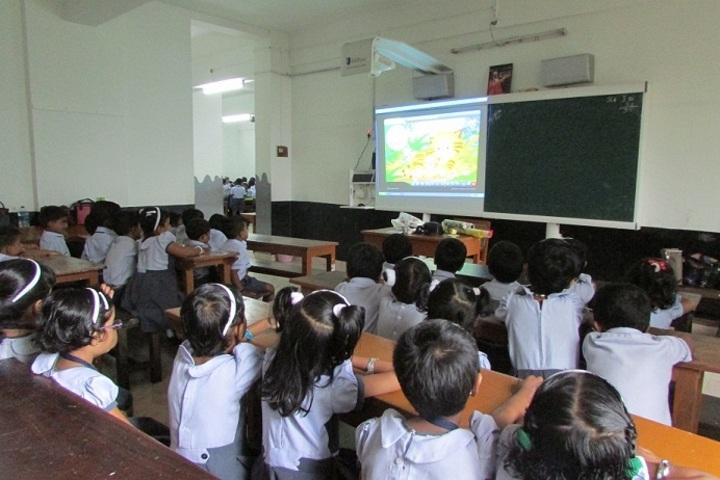 Chinmaya Vidyalaya-Smart Classroom