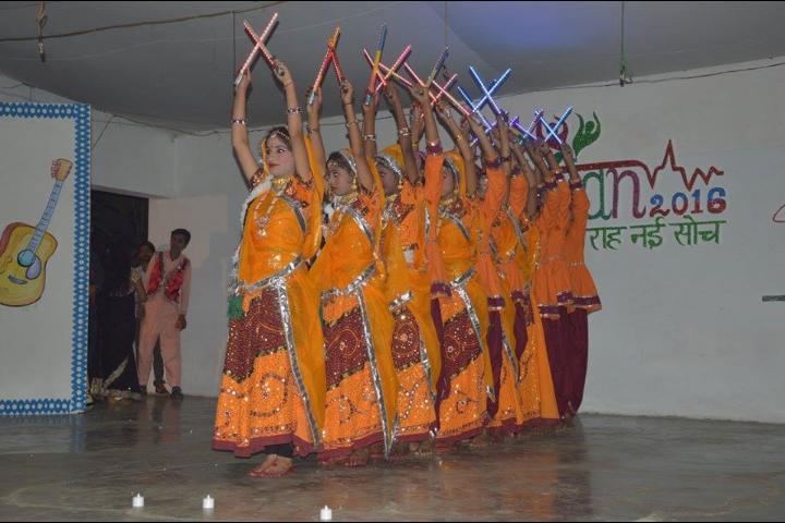 Aditya Birla Intermediate College-Dancing Activity