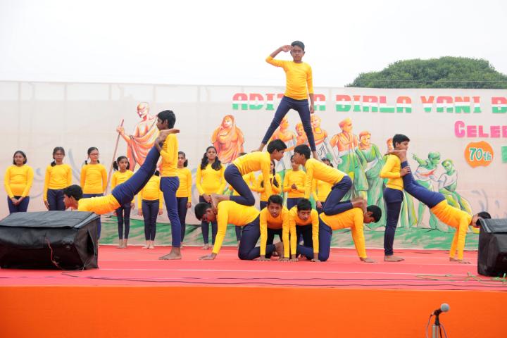 Aditya Birla Vani Bharati-Activity on Independence Day Celebration