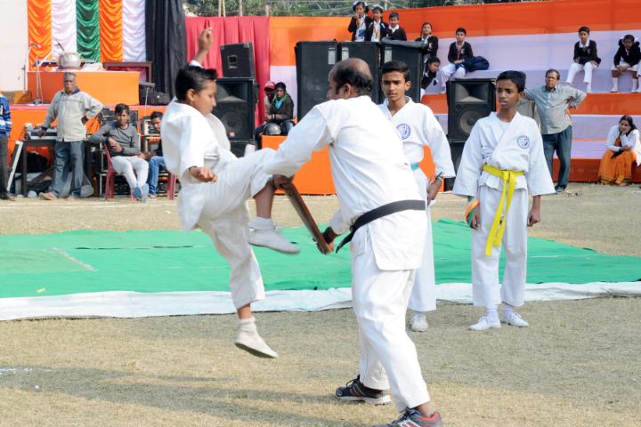Aditya Birla Vani Bharati-Karate Activity
