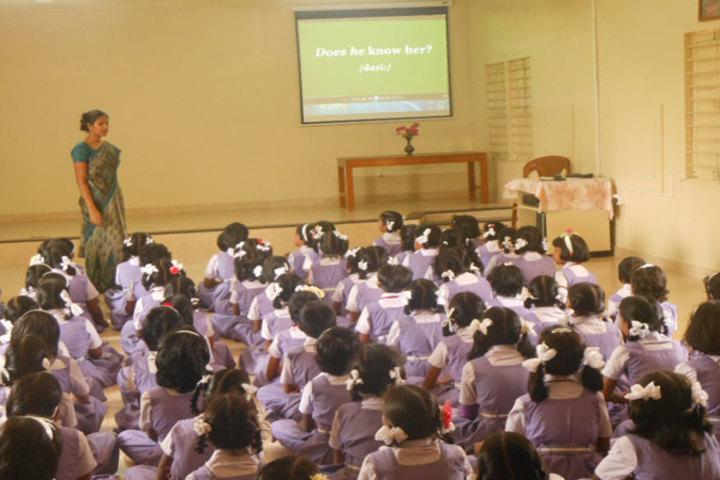 PSGR Krishnammal Higher Secondary School for Girls-AV Room