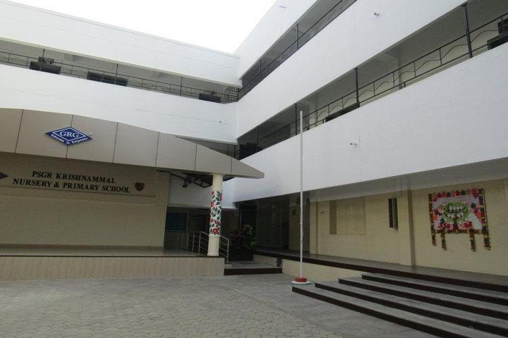 PSGR Krishnammal Higher Secondary School for Girls-Campus