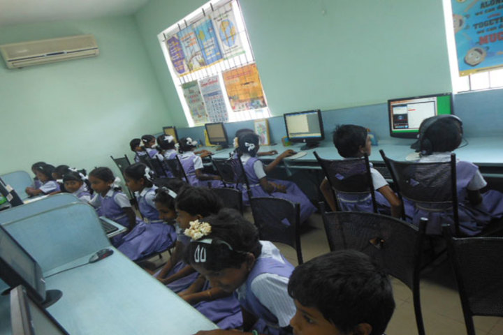 PSGR Krishnammal Higher Secondary School for Girls-Computer Lab
