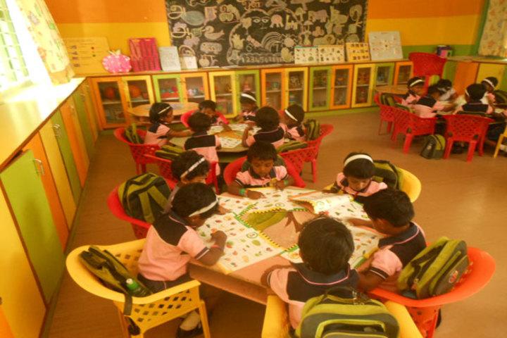PSGR Krishnammal Higher Secondary School for Girls-Kindergraten