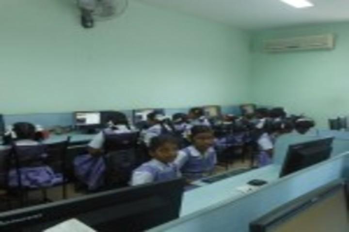 PSGR Krishnammal Higher Secondary School for Girls-Language Lab