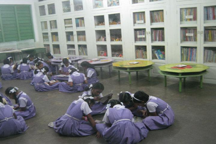 PSGR Krishnammal Higher Secondary School for Girls-Library