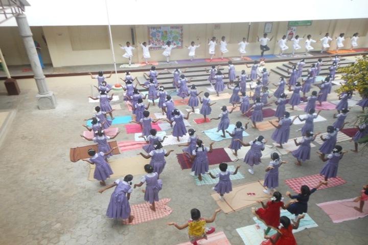 PSGR Krishnammal Higher Secondary School for Girls-Yoga