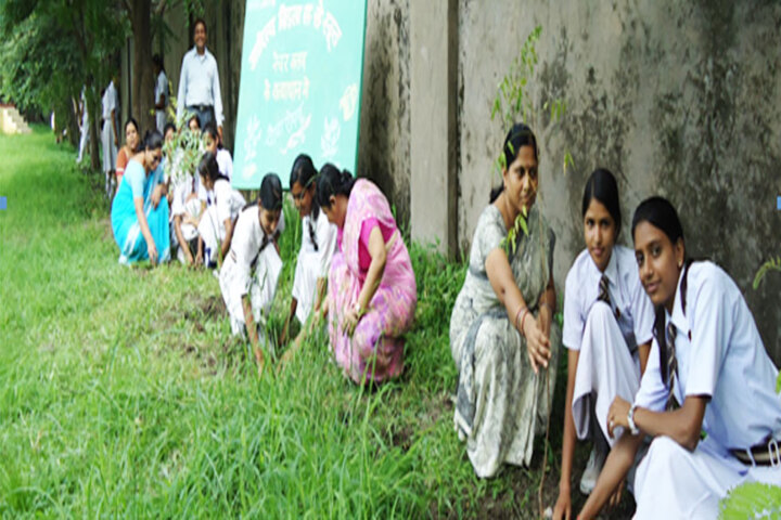 Aditya Birla Higher Secondary School-Tree Plantation