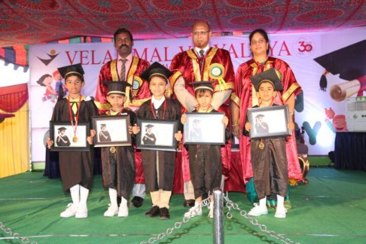 Velammal Matriculation Higher Secondary School-Graduation Day