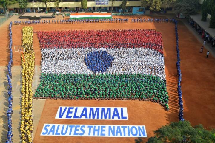 Velammal Matriculation Higher Secondary School-Independence Day