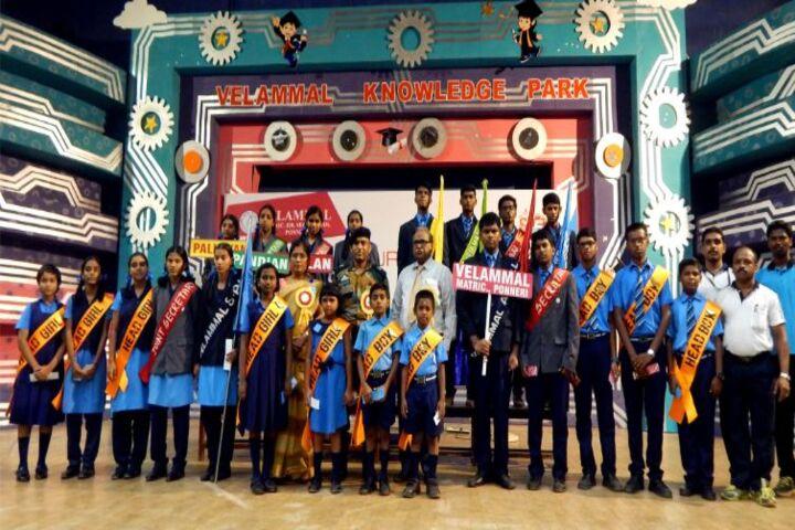 Velammal Matriculation Higher Secondary School-Investiture Ceremony