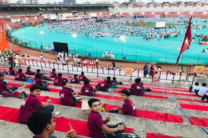 Tripada High School-Yoga Day