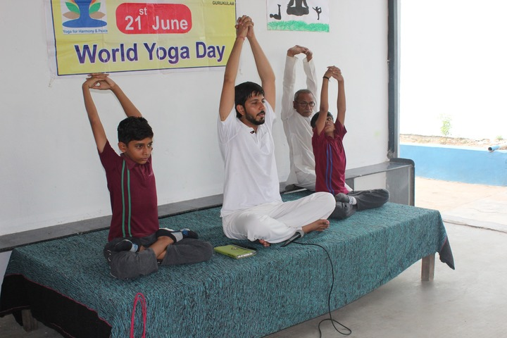 Tripada Gurukulam-World Yoga Day