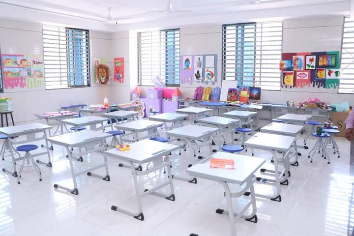 Rahul International School-Classroom