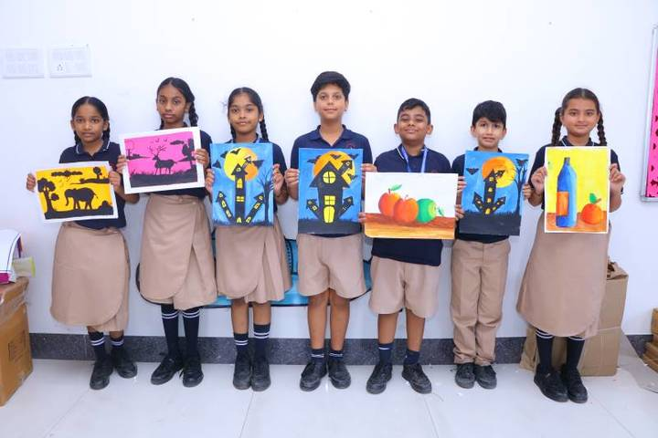 Rahul International School-Drawing Competiton