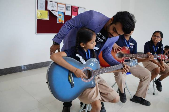 Rahul International School-Music Room