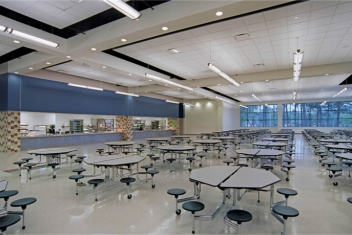 Rahul International School-Cafeteria