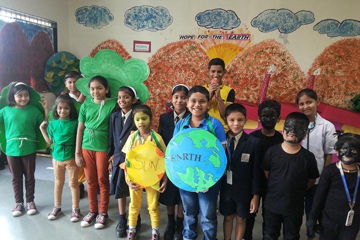 Rahul International School-Earth Day