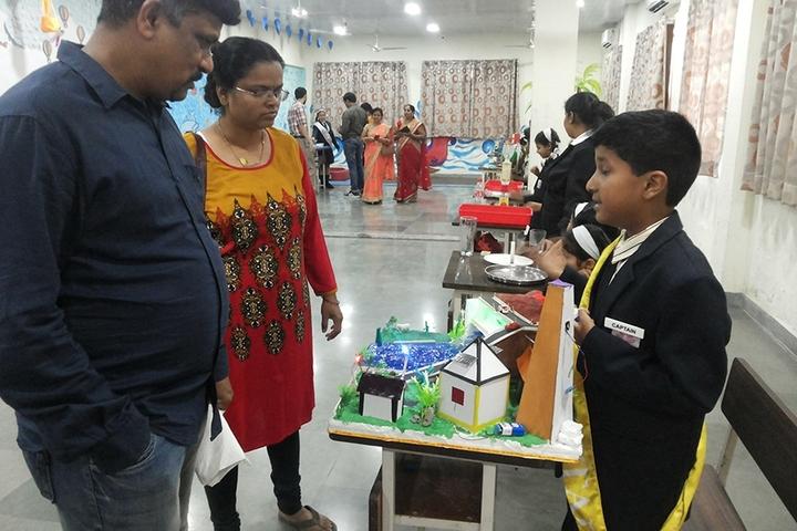 Rahul International School-School Exhibition