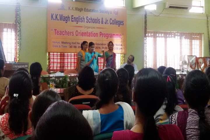 K K Wagh Junior College-Orientation Programme