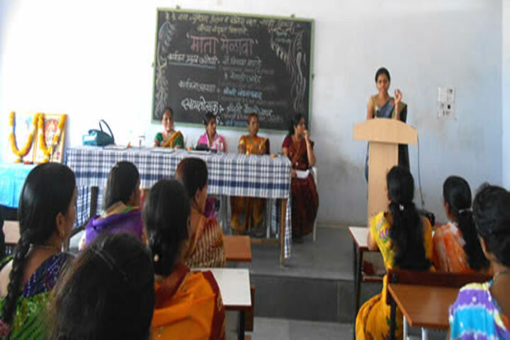 K K Wagh Junior College-Womens Day
