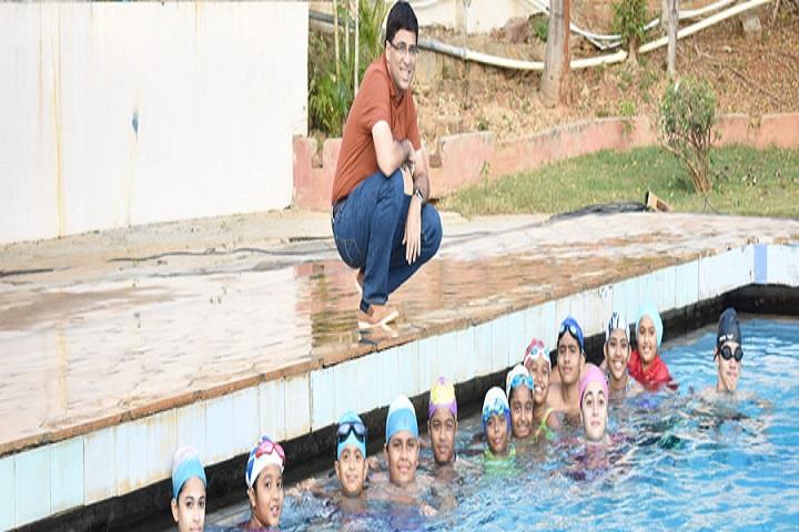Edify International School-Swimming Pool