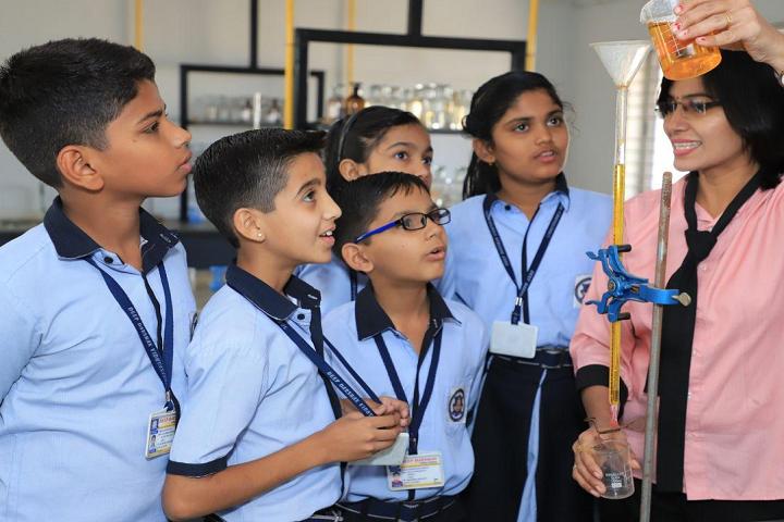 Deep Darshan Vidhya Sankul-Chemistry Lab
