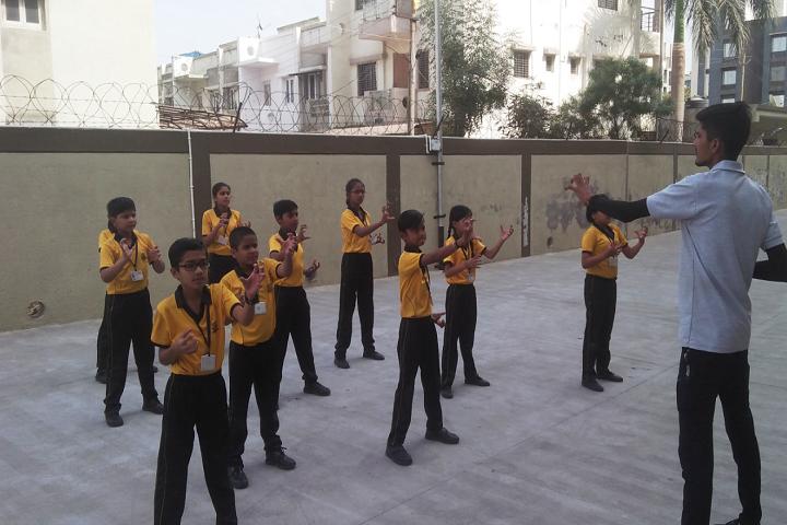 Deep Darshan Vidhya Sankul-Karate Classes