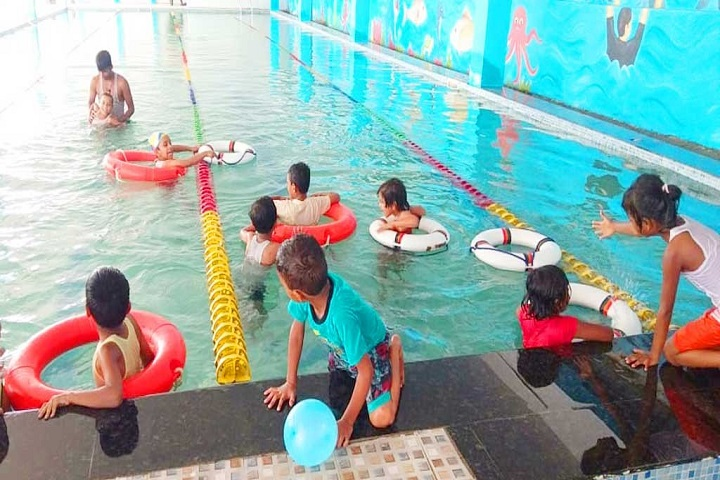 Maa Ranjana Devi International School-Swimming Pool