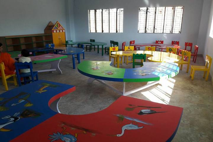 Diamond International Public School-Kids Classroom